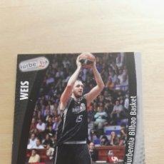 Trading Cards: PANINI LIGA ACB 2008 2009 08 09 TRADING CARDS N°140 WEISS ,NUEVOS, PIDE TUS FALTAS. Lote 154924762