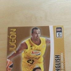 Trading Cards: PANINI LIGA ACB 2008 2009 08 09 TRADING CARDS N°160 ENGLISH , JUGON ,NUEVOS, PIDE TUS FALTAS. Lote 154925789