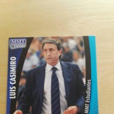 Trading Cards: PANINI LIGA ACB 2008 2009 08 09 TRADING CARDS N°165 ENTRENADOR ESTUDIANTES ,NUEVOS, PIDE TUS FALTAS. Lote 154927037