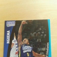 Trading Cards: PANINI LIGA ACB 2008 2009 08 09 TRADING CARDS N°167 NGUEMA ,NUEVOS, PIDE TUS FALTAS. Lote 154927540