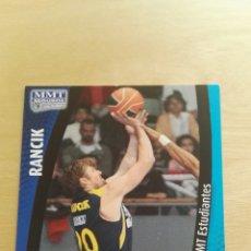 Trading Cards: PANINI LIGA ACB 2008 2009 08 09 TRADING CARDS N°173 RANCIK,NUEVOS, PIDE TUS FALTAS. Lote 154928193