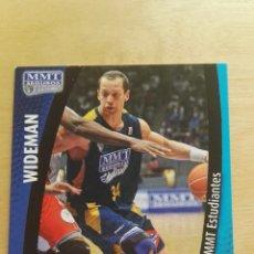 Trading Cards: PANINI LIGA ACB 2008 2009 08 09 TRADING CARDS N°176 WIDEMAN ,NUEVOS, PIDE TUS FALTAS. Lote 154928777