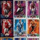 Trading Cards: COLECCION 9 CROMOS FUTBOL AUTOGRAFIADOS PREMIER LIGE. Lote 158914397