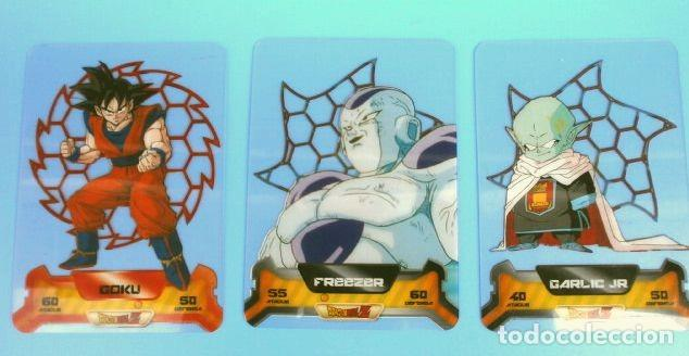 Trading Cards: DRAGON BALL Z SUPER 3D NEW EDITION LAMINCARDS EDIBAS - nº 14, 79, 80, 87, 108, 122, 127,148,150 - Foto 3 - 159964110