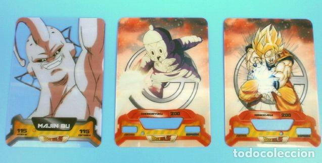 Trading Cards: DRAGON BALL Z SUPER 3D NEW EDITION LAMINCARDS EDIBAS - nº 14, 79, 80, 87, 108, 122, 127,148,150 - Foto 4 - 159964110