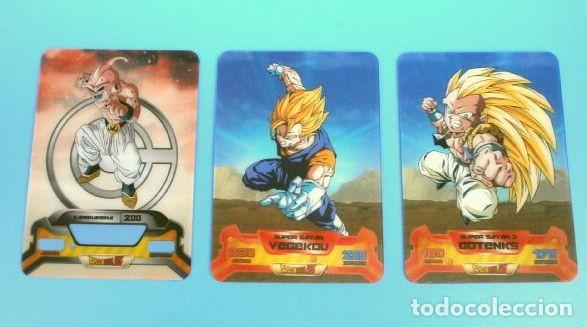 Trading Cards: DRAGON BALL Z SUPER 3D NEW EDITION LAMINCARDS EDIBAS - nº 14, 79, 80, 87, 108, 122, 127,148,150 - Foto 5 - 159964110