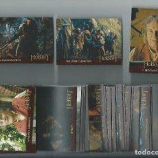 Trading Cards: EL HOBBIT : UN VIAJE INESPERADO . TRADING CARDS. SET CASI COMPLETO ((FALTAN 3 DE 101). Lote 160957446