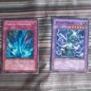 Trading Cards: 2 CARTAS TRADINGS CARDS YU-GI-OH! KONAMI TRIBUTO TORRENCIAL CARTA TRAMPA Y STEAM GYROID. Lote 161100898