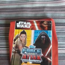 Trading Cards: SOBRE CROMOS TRADING CARDS STAR WARS TOPPS FORCE ATTAX 2010. Lote 161101546