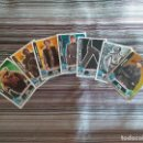 Trading Cards: 7 TRADING CARDS CARTAS CROMOS STAR WARS TOPPS FORCE ATTAX. Lote 161106090