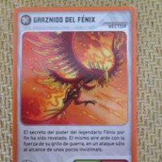 Trading Cards: CARD/LAMINCARD DE LA COLECCIÓN: INVIZIMALS. NUEVA ALIANZA. PANINI. 2014. Nº 313. Lote 161685522