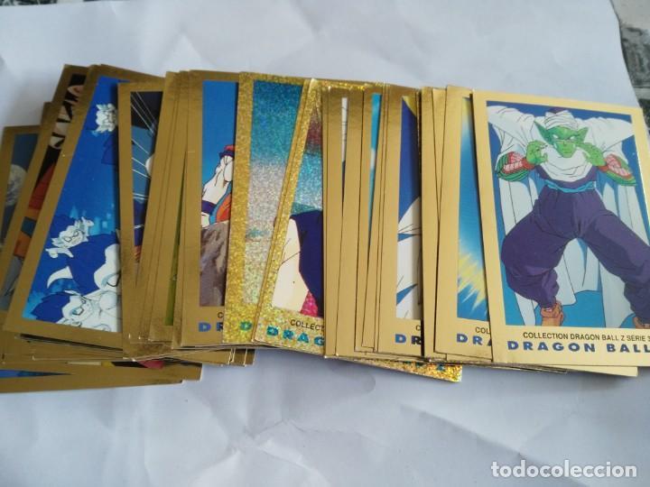RESERVADO 8 CROMOS - LOTE 53 CARTAS DE DRAGON BALL Z SERIE 3, 1989, COLLECTION CARD, TRADING CARDS (Coleccionismo - Cromos y Álbumes - Trading Cards)