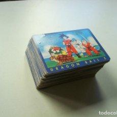 Trading Cards: DRAGON BALL Z TRADING CARDS SERIE AZUL LOTE 84 UNIDADES DISTINTAS 1 AL 120 (CROMOS, TARJETAS,FICHAS). Lote 162590978