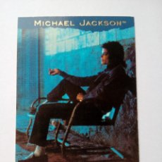 Trading Cards: MICHAEL JACKSON THE WAY YOU MAKE ME FEEL TRADING CARD EN FRANCÉS # 128 PANINI 1996. Lote 162775558