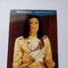 Trading Cards: MICHAEL JACKSON REMEMBER THE TIME TRADING CARD EN FRANCÉS # 138 PANINI 1996. Lote 162776470