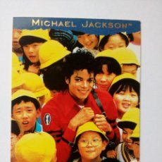 Trading Cards: MICHAEL JACKSON MAN IN THE MIRROR TRADING CARD EN FRANCÉS # 129 PANINI 1996. Lote 162777730