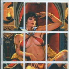 Trading Cards: VAMPIRELLA : TRADING CARDS SERIES 2011 : SUBSET PUZZLE COMPLETO 9 CARDS. Lote 164447086