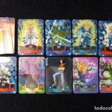 Trading Cards: DRAGON BALL SUPER 3D. LOTE 9 LAMINCARD. EDIBAS MUNDI CROMO, EDICION ITALIANA. Lote 166641941