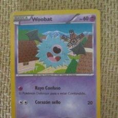 Trading Cards: CARTA POKÉMON 2012 - WOOBAT. Lote 168216028