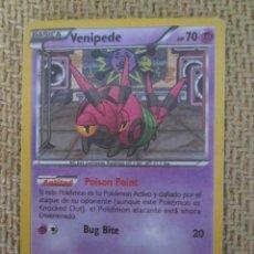 Trading Cards: CARTA POKÉMON 2012 - VENIPEDE. Lote 168216244