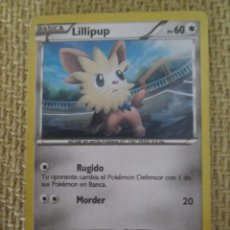 Trading Cards: CARTA POKÉMON 2012 - LILLIPUP. Lote 168365104