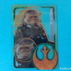 Trading Cards: STAR WARS - ROGUE ONE - TOPPS 2016 - Nº 202 - TRANSPARENTE. Lote 168698505