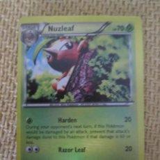 Trading Cards: CARTA POKÉMON 2016 - NUZLEAF. Lote 168847552