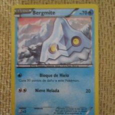 Trading Cards: CARTA POKÉMON 2016 - BERGMITE. Lote 168860768