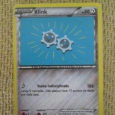 Trading Cards: CARTA POKÉMON 2016 - KLINK. Lote 169033992