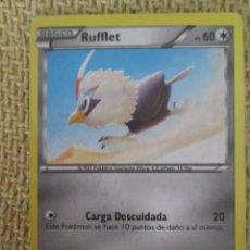 Trading Cards: CARTA POKÉMON 2016 - RUFFLET. Lote 169037952