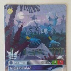 Trading Cards: Nº 104 - FANTASY RIDERS - MISTICOS - INVISIBILIDAD - PANINI 2018. Lote 169563700