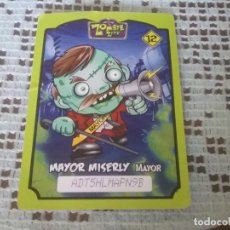 Trading Cards: CROMO/TRADING CARD ZOMBIE ZITY. MAYOR MISERLY. Lote 169594372