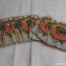 Trading Cards: PREDATORS BATALLA DEL VOLCÁN 15 CROMOS / CARDS. Lote 179380067