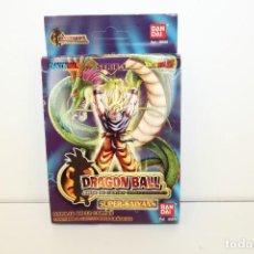 Trading Cards: DRAGON BALL Z SUPER-SAIYANS - MAZO SERIE 1 SIN ABRIR - REF: 05010 DE BANDAI. Lote 170683775