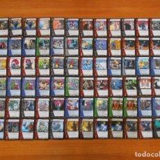 Trading Cards: LOTE 256 CARTAS MARVEL VS SYSTEM - MARVEL KNIGHTS Y WEB OF SPIDERMAN - EN ESPAÑOL (DD). Lote 171628272