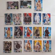 Trading Cards: LOTE DE 18 CROMOS FORCE ATTAX STAR WARS - TRADING CARDS. Lote 172108067