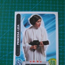 Trading Cards: STAR WARS FORCE ATTAX - PRINCESA LEIA - TRADING CARD Nº 24 - TOPPS/CARREFOUR. Lote 172412039
