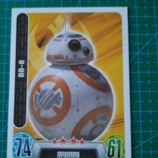 Trading Cards: STAR WARS FORCE ATTAX - BB-8 - TRADING CARD Nº 85 - TOPPS/CARREFOUR. Lote 172419902