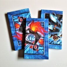 Trading Cards: YU-GI-OH! TABLERO DE JUEGO TRADING CARD - LOTE X 3 - 60 X 25.5.CM. Lote 172577349