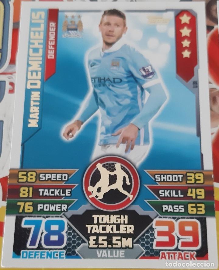 Match ATTAX Martin Demichelis