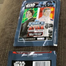 Trading Cards: LOTE 10 SOBRES CARDS STAR WARS ROGUE ONE. TOPPS. CARREFOUR. Lote 174702892
