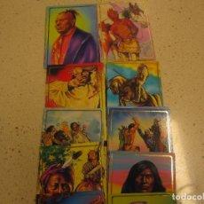 Trading Cards: COLECCION CARDS NATIVOS AMERICANOS INDIOS COMPLETA. Lote 175283945