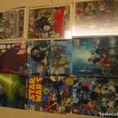 Trading Cards: COLECCION CROMOS CARDS STAR WARS COMPLETA 110 CARDS. Lote 175288232