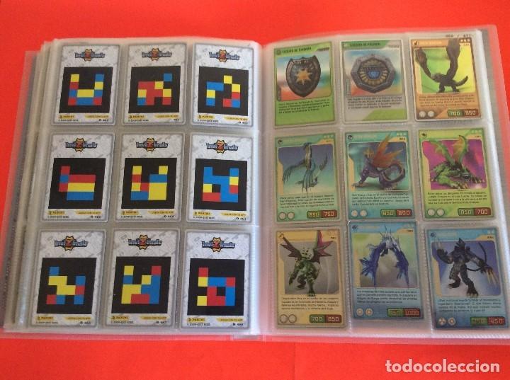 Trading Cards: ÁLBUM COMPLETO - INVIZIMALS DESAFIO OCULTO - 2009 - 2013 -COMPLETA NUEVO PANINI Trading Cards - Foto 5 - 175289868