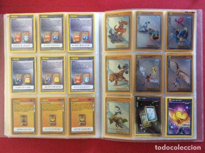 Trading Cards: ÁLBUM COMPLETO - INVIZIMALS BATALLA DE CAZADORES COLECCIÓN COMPLETA (NUEVA) Trading Cards - PANINI - Foto 2 - 175344979
