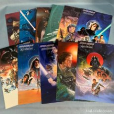 Trading Cards: TARJETAS STAR WARS - TOPPS MASTER VISIONS AÑO 1995. Lote 175577242