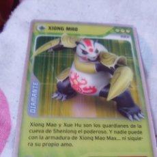Trading Cards: INVIZIMALS 2013 DESAFÍOS OCULTOS XIONG MAO N°198 OPACO. Lote 175765042