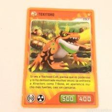 Trading Cards: (C-23) CARTA INVIZIMALS - NUEVA ALIANZA 2014 - N° 035 TOXITOAD. Lote 175899428