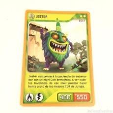 Trading Cards: (C-23) CARTA INVIZIMALS - NUEVA ALIANZA 2014 - N° 107 JESTER. Lote 175899483