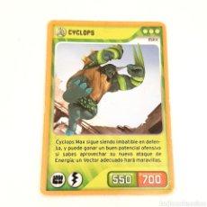 Trading Cards: (C-23) CARTA INVIZIMALS - NUEVA ALIANZA 2014 - N° 105 CYCLOPS. Lote 175899850